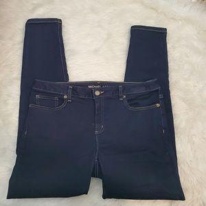 Michael Kors Pants - Michael Kors Izzy Skinny Dark Wash Jeans